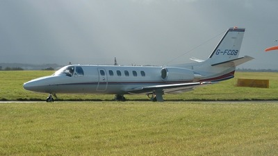 G-FCDB - Cessna 550B Citation Bravo - Eurojet Aviation