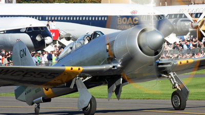 NX20MD - Hawker Sea Fury T.20 - Private