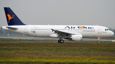 F-WWBI - Airbus A320-216 - Air One