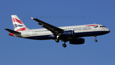 G-TTOF - Airbus A320-232 - British Airways (GB Airways)