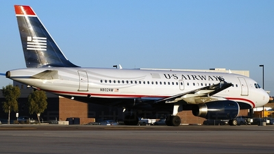 N802AW - Airbus A319-132 - US Airways (America West Airlines)