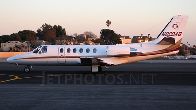 N800AB - Cessna 550B Citation Bravo - Private