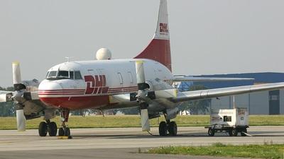 EC-HLD - Convair CV-580(F) - DHL (Swiftair)