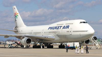 HS-VAA - Boeing 747-206B(SUD) - Phuket Air