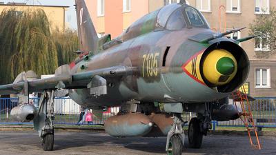 7105 - Sukhoi Su-22M4 Fitter K - Poland - Air Force