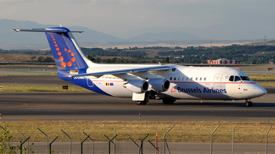 OO-DWA - British Aerospace Avro RJ100 - Brussels Airlines
