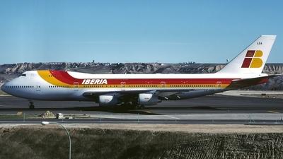 TF-ABA - Boeing 747-267B - Iberia (Air Atlanta Icelandic)
