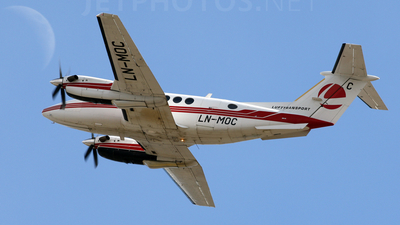 LN-MOC - Beechcraft B200 Super King Air - Lufttransport