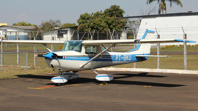 PT-BKU - Cessna 150J - Aero Club - Londrina