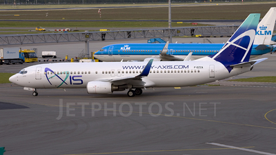F-GZZA - Boeing 737-86N - Axis Airways