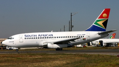 ZS-SIB - Boeing 737-244(Adv) - South African Airways