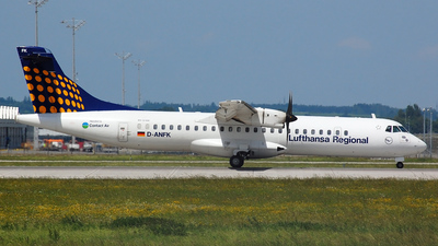 D-ANFK - ATR 72-212A(500) - Lufthansa Regional (Contact Air)