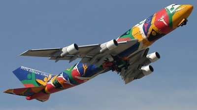 ZS-SAJ - Boeing 747-312 - South African Airways