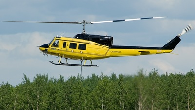 C-GFQN - Bell 212 - Campbell Helicopters