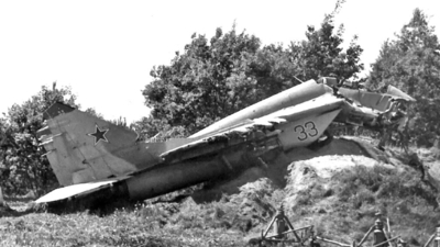 33 - Mikoyan-Gurevich MiG-29 Fulcrum - Soviet Union - Air Force
