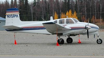 N15PH - Beechcraft E50 Twin Bonanza - Private