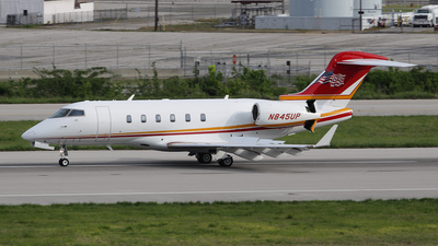 N845UP - Bombardier BD-100-1A10 Challenger 300 - Private