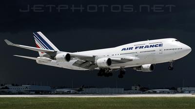 F-GISD - Boeing 747-428 - Air France