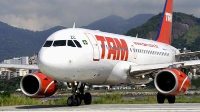 PT-MZC - Airbus A319-132 - TAM Linhas Aéreas