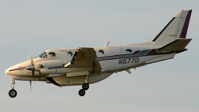 N577D - Beechcraft 100 King Air - Vintage Props & Jets