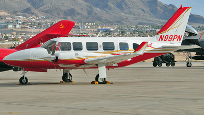 A picture of N99PN - Piper PA31350 - [317305042] - © Carlos Barcelo