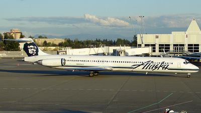 N969AS - McDonnell Douglas MD-83 - Alaska Airlines
