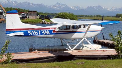 A picture of N1673M - Cessna A185E - [18501865] - © Mirko Bleuer