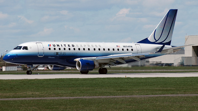 N654RW - Embraer 170-100SE - United Express (Shuttle America)