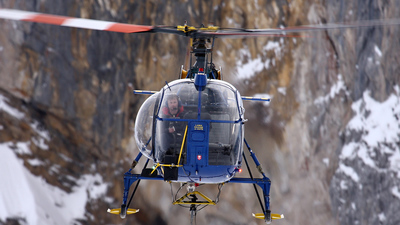 HB-ZGP - Aérospatiale SA 315B Lama - Alpinlift