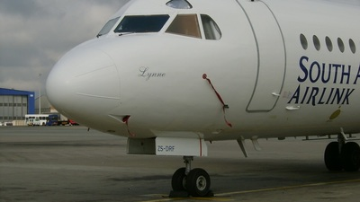 ZS-DRF - Fokker F28-4000 Fellowship - Airlink