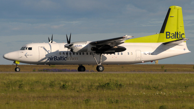 YL-BAT - Fokker 50 - Air Baltic