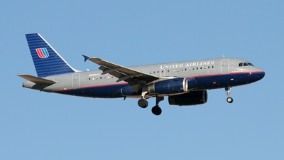 N839UA - Airbus A319-131 - United Airlines