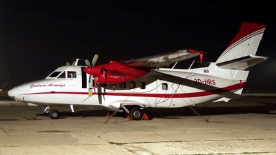 3D-HRS - Let L-410UVP Turbolet - Eastern Airways