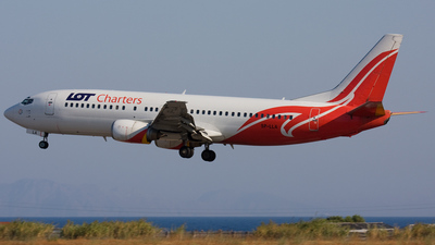 SP-LLA - Boeing 737-45D - LOT Charters