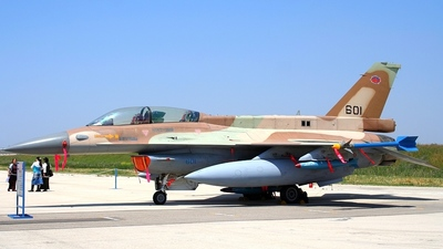 601 - General Dynamics F-16D Fighting Falcon - Israel - Air Force