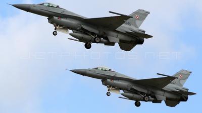 4045 - Lockheed Martin F-16C Fighting Falcon - Poland - Air Force