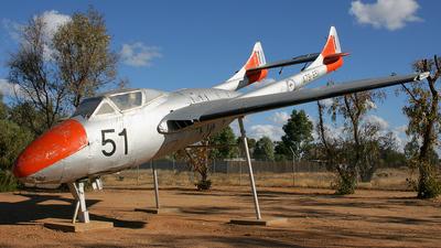 A79-651 - De Haviland Australia Vampire T.35 - Australia - Royal Australian Air Force (RAAF)