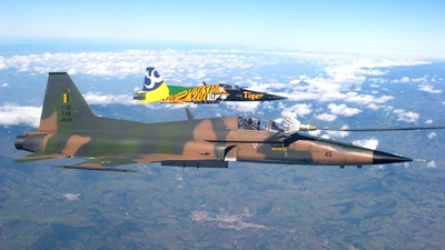 FAB4845 - Northrop F-5E Tiger II - Brazil - Air Force