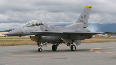 92-3886 - General Dynamics F-16C Fighting Falcon - United States - US Air Force (USAF)