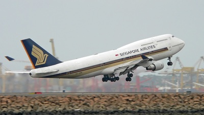 9V-SMM - Boeing 747-412 - Singapore Airlines