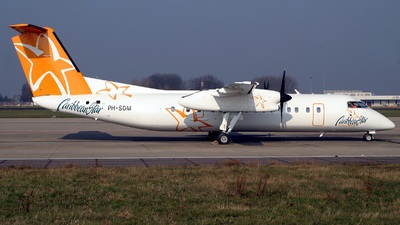 PH-SDM - Bombardier Dash 8-311 - Caribbean Star Airlines