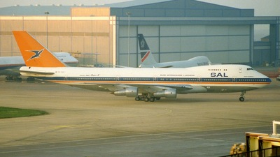 ZS-SAO - Boeing 747-244B - South African Airways