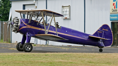 N75PT - Boeing A75N1 Stearman - Private