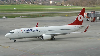 TC-JGE - Boeing 737-8F2 - Turkish Airlines