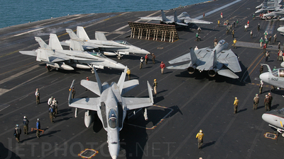 CVN-71 - Aircraft Carrier - Ramp