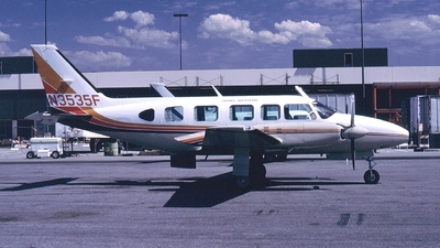 N3535F - Piper PA-31-350 Navajo Chieftain - Trans Western