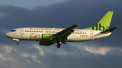 D-AGEJ - Boeing 737-3L9 - dba (Germania)