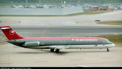 N766NC - McDonnell Douglas DC-9-51 - Northwest Airlines
