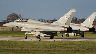 ZJ808 - Eurofighter Typhoon T.1 - United Kingdom - Royal Air Force (RAF)