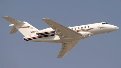 N803SA - Hawker Beechcraft 4000 - Private